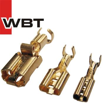 WBT Gold plated Push-on Connectors